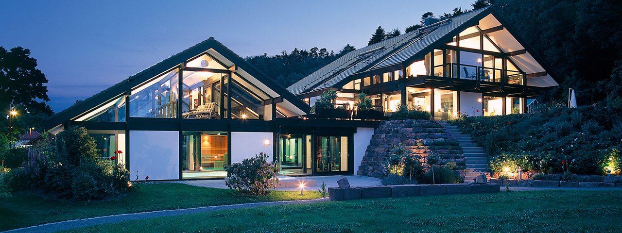 Fachwerkhaus im schwarzwald davinci haus for Modernes haus technik