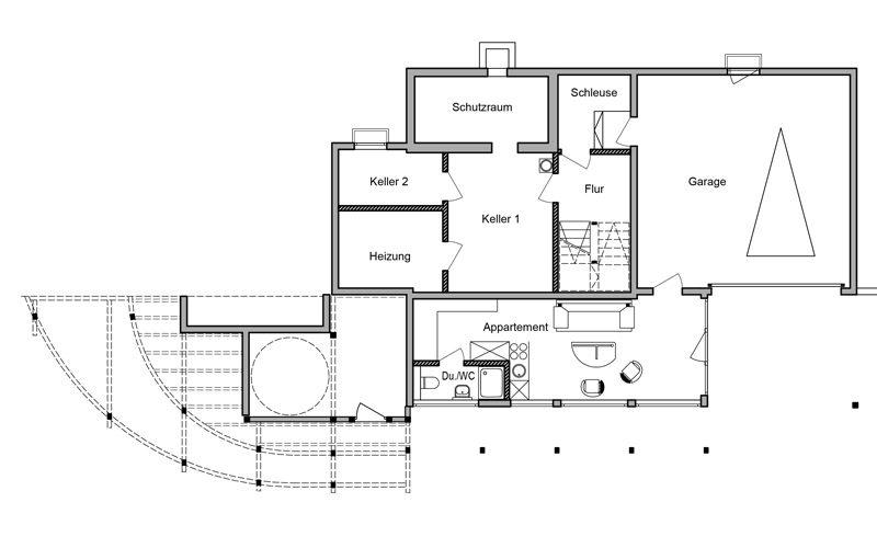 haus am hang in genf am see ch davinci haus. Black Bedroom Furniture Sets. Home Design Ideas