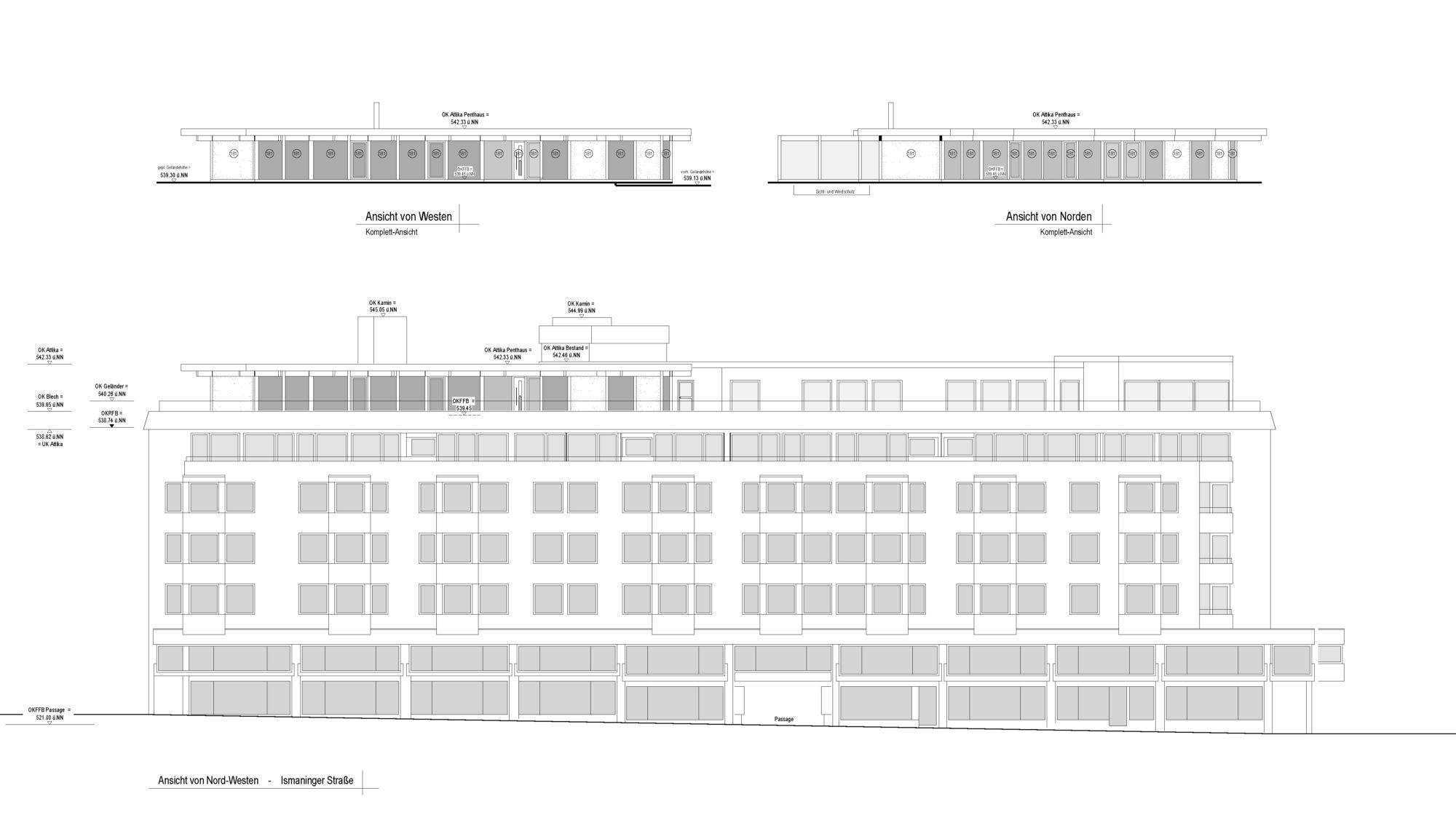Davinci Penthaus Architektenansicht